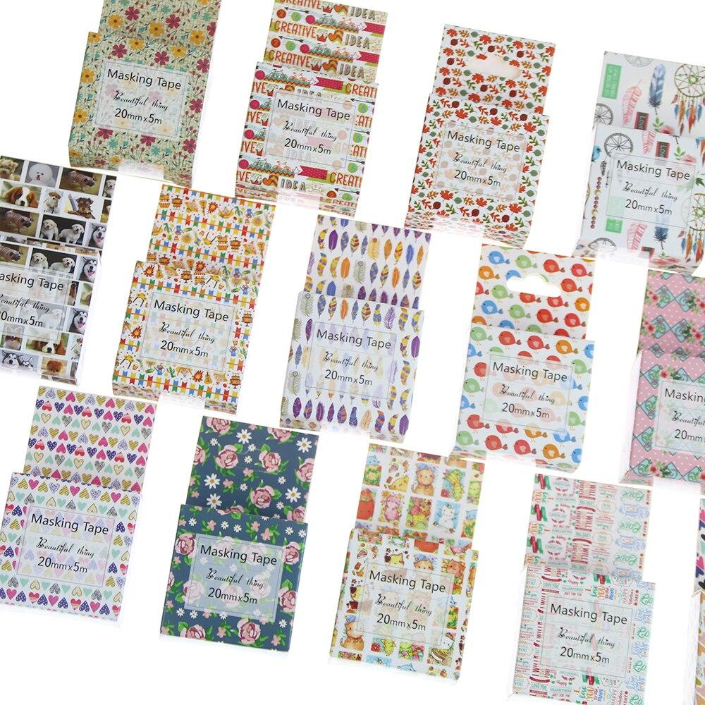 1pcs Washi Tape Decorative Scotch Tape Decorative Tapes Scrapbook Paper Masking Sticker Set Photo Album Washi Tape