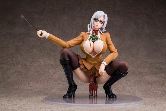 17cm Prison School Meiko Shiraki Soft Mount 1/6 Figure & Kanu Set sexy toy model 2