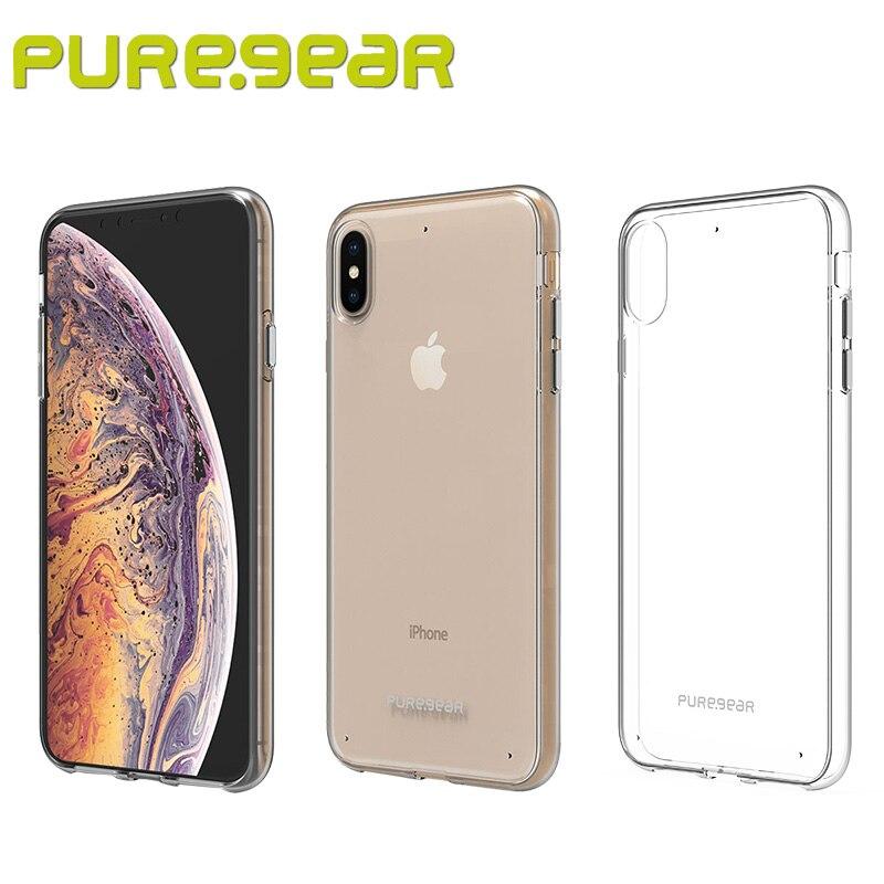 Puregear D'origine Mince Transparent Shell Anti Choc Cas Clair pour iPhone Xs Max (6.5 ) avec le Paquet 62496PG 62497PG