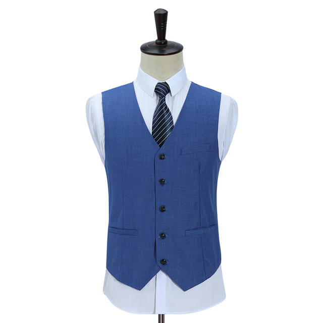 Plyesxale Slim Fit Men Suits For Wedding One Button Dark Blue Light Blue  Mens Formal Suits 2c45ee31e