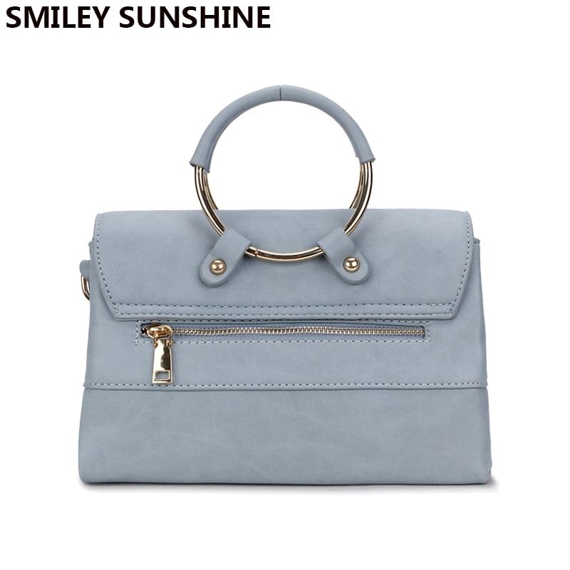 SMILEY SUNSHINE jenama bingkai wanita messenger bags musim panas - Beg tangan - Foto 6