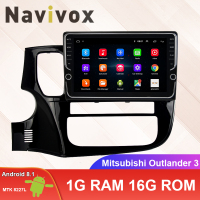 Navivox 10.1'' 2 Din Android 8.1 Car Radio Multimedia Audio Video Player 4G GPS Navi DVD For Mitsubishi Outlander 3 2012 2018