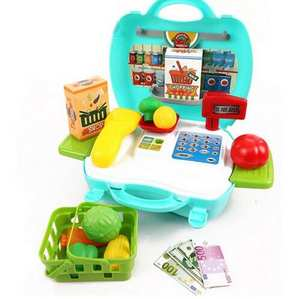 Register Simulation Pretend-Play-Toys Children Supermarket with Box Checkout Cash Specials
