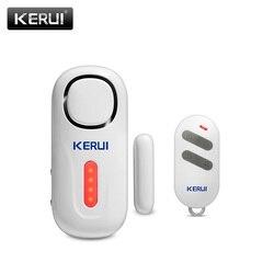 KERUI беспроводной дверной/оконный вход охранной датчик сигнальный ПИР двери Магнитная сигнализация системы безопасности с пультом дистанци...