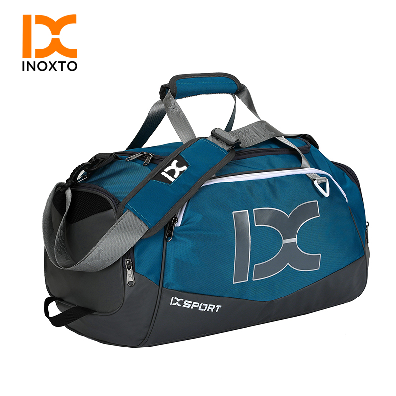40L Sports Bag Training Gym Bag Men Woman Fitness Bags Durable Multifunction Handbag Outdoor Sporting Tote For Male Female(China)