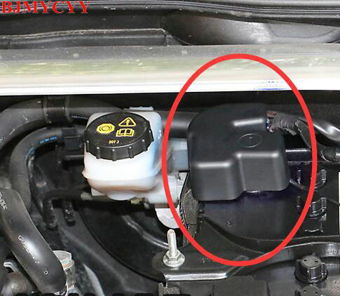 Mazda 3 Battery >> Bjmycyy Car Styling Car Battery Vacuum Protective Cover Battery Box