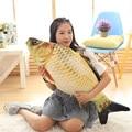 Hot Creative Small Fish Shape Decorative Cushion Throw Pillow With Inner Home Decor Sofa Emulational Toys crucian