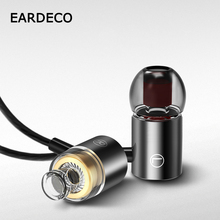 EARDECO Magnetic Wired In Ear Headphones Sport Phone Earphone Headset Bass Wire Stereo Earphones Mp3 Earbuds With Mic Earpiece original earphone 3 5mm g10 black heavy bass headphones noise canceling headset wired hifi earbuds for phone mp3 mp4 with mic