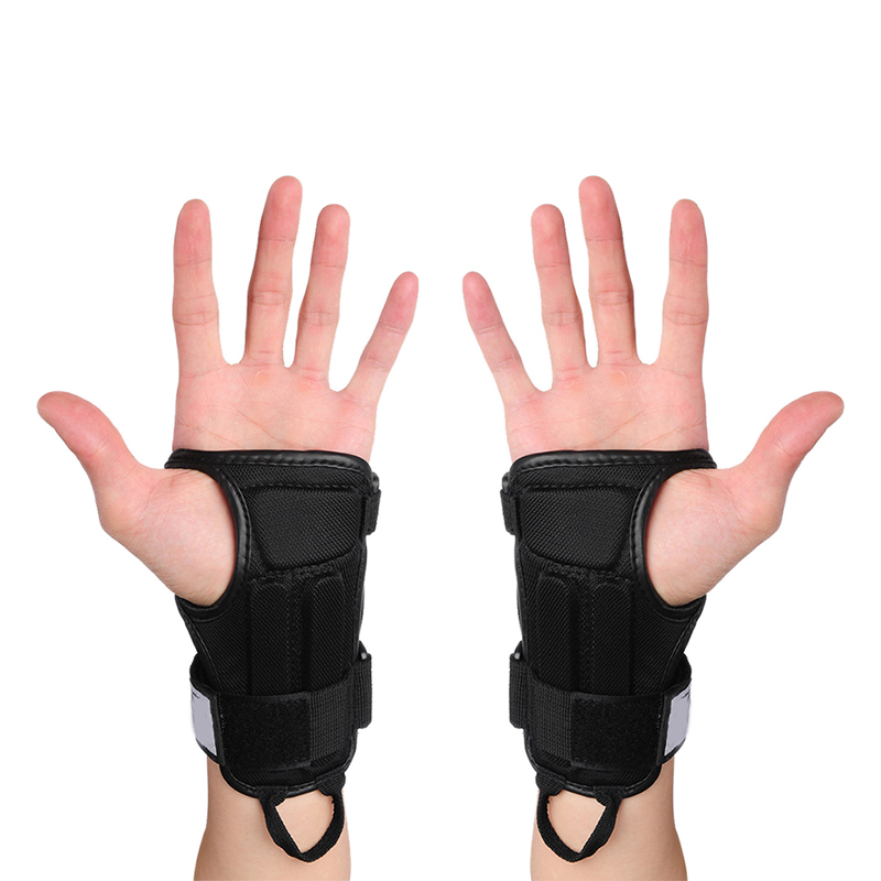 Outdoor Sports Gloves Skiing Skating Skateboard Snowboard Gear Hand Protectors Gloves Armguard Palm Wrist Guard