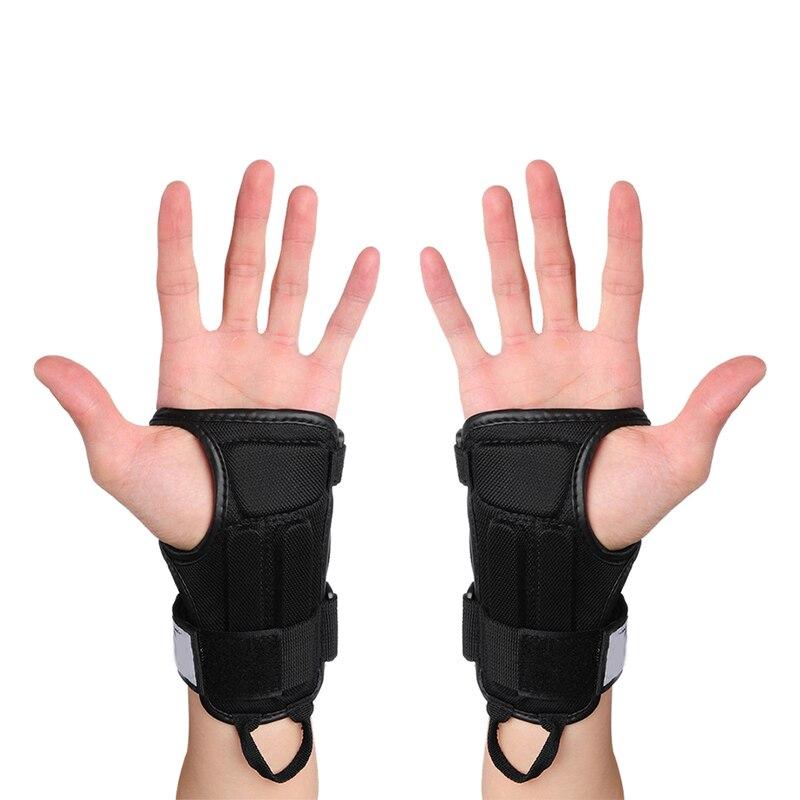 Prix pour Sports de plein air Gants de Ski De Patinage Skateboard Snowboard Vitesse Main Protecteurs Gants Armguard Palm Wrist Guard