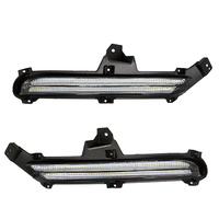 2Pcs Set LED Daytime Running Light Car DRL Head Fog Lamp For KIA K2 Rio 2015