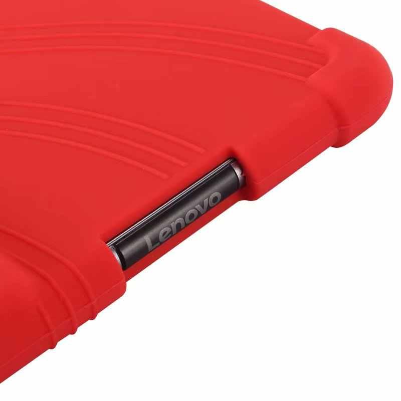 غطاء حامل مضاد للخبط من السيليكون لأجهزة Lenovo Tab 4 8 Plus TB-8704F جراب لوحي مقاس 8.0 بوصة حقيبة جراب بأكمام TB8704N