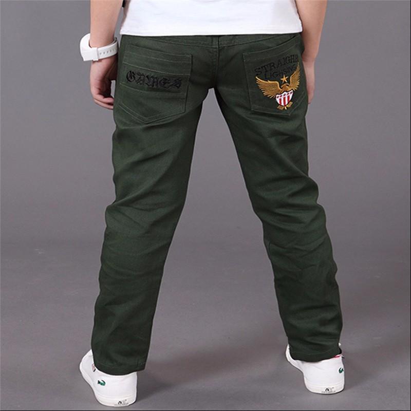 HTB1jsMLOVXXXXaQaVXXq6xXFXXXW - boys pants kids jeans 2018 casual Spring Solid Cotton Mid Elastic Waist Pants for Boy jeans kids Clothing Children Trousers p023
