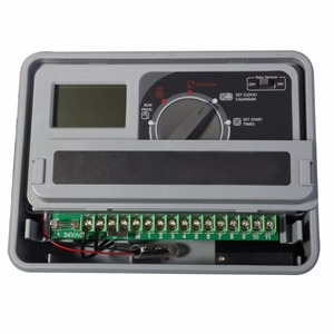 Image 2 - 11 스테이션 가든 자동 관개 컨트롤러 eu 표준 내부 변압기와 물 타이머 급수 시스템 #10469