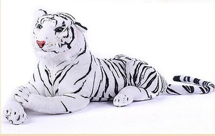 lovely tiger plush toys white tiger toy stuffed tiger doll white tiger pillow birthday gift 50cm 6pcs plants vs zombies plush toys 30cm plush game toy for children birthday gift