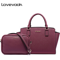 LOVEVOOK Women Bag Female Handbags Large Ladies Messenger Bags High Quality PU Shoulder Crossbody Bag Small