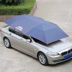 Image 2 - Parasol extérieur parapluie isolation coupe vent boutons bâche de voiture Mobile pique nique Auto Oxford tissu imperméable pliable anti poussière