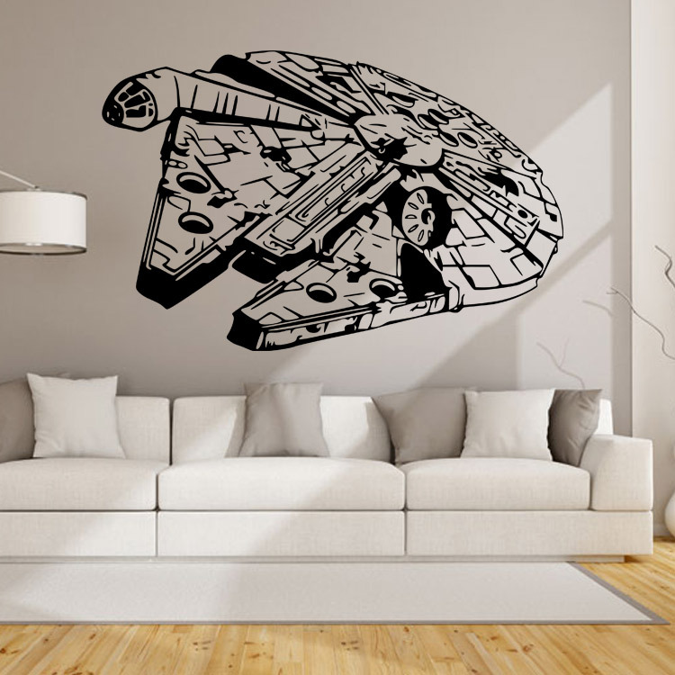 aliexpresscom buy wall art design star wars wall sticker decal home decor kids geek gamer removable wall stickers for kids rooms wallpaper from reliable - Wall Art Design Decals