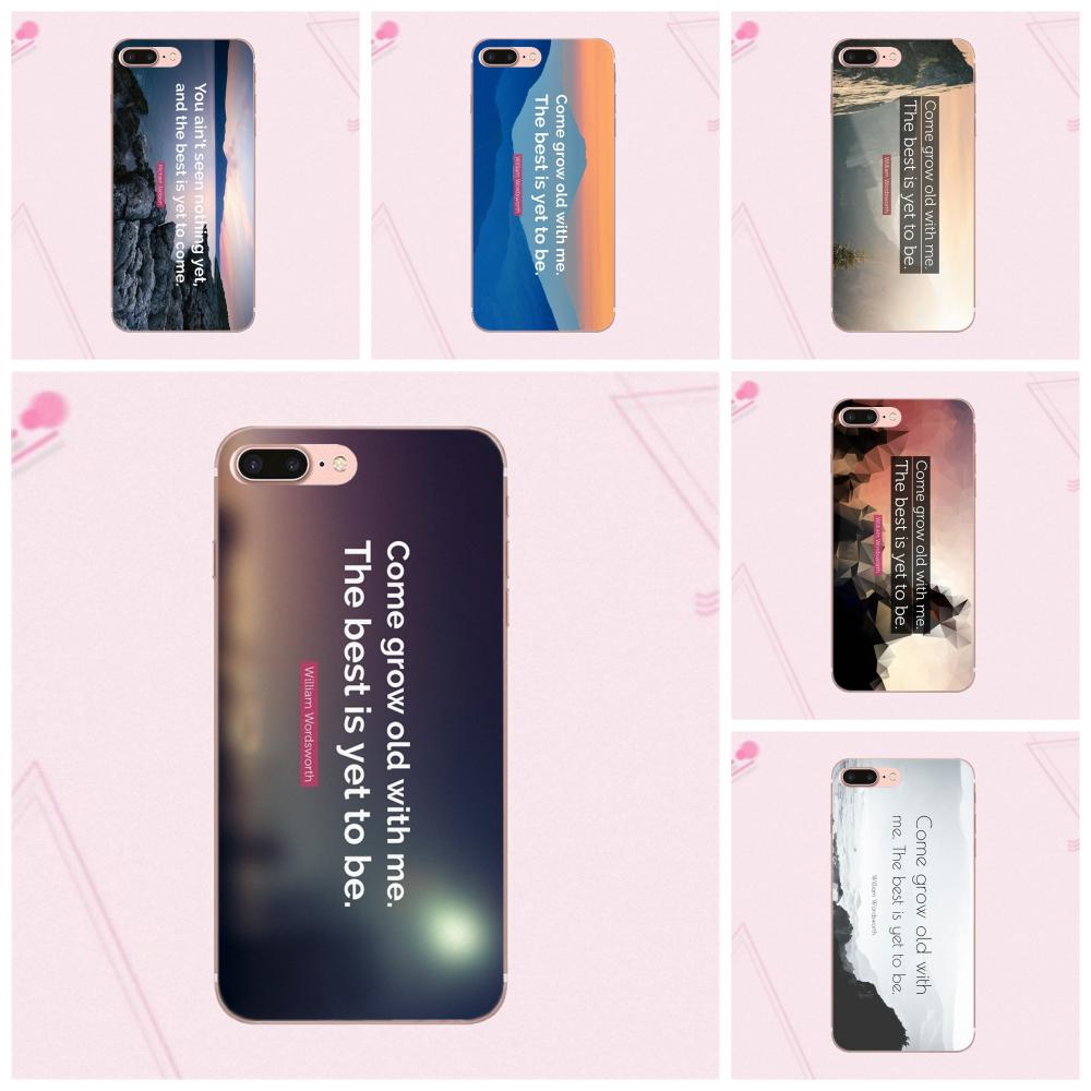 For Galaxy J1 J2 J3 J330 J4 J5 J6 J7 J730 J8 2015 2016 2017 2018 mini Pro Soft TPU Cell Bags The Best Has Yet To Come Life Quote image