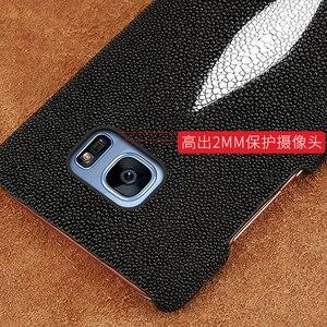 Image 5 - Wangcangli מותג נייד טלפון מקרה פרל דגים חצי חבילה נייד טלפון מקרה עבור סמסונג c8 טלפון נייד מקרה מותאם אישית עיבוד