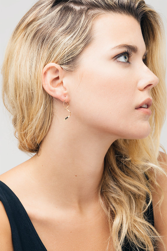 Pinjeas Wedding Dainty Threaders Earrings Handmade Dangle Earring Simple Delicate Jewelry Holiday Gift In Drop From Accessories On