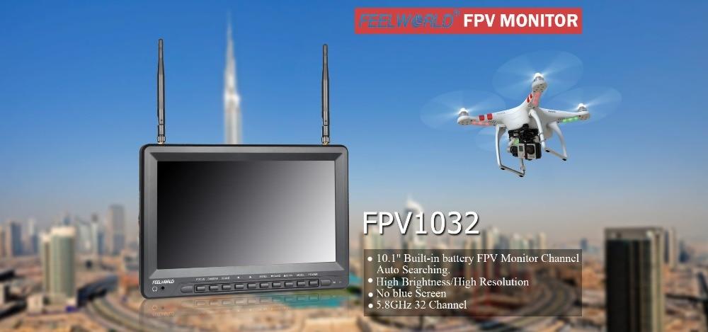 dji f450 quadcopter lcd monitor