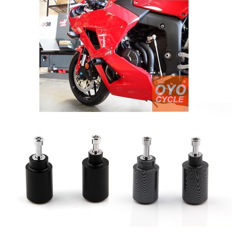 For 1999-2006 Honda CBR 600 CBR600 F4 F4i No Cut Frame Slider 1999 2000 2001 2002 2003 2005 2006 Crash Falling Protection