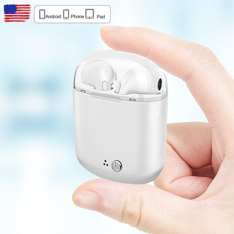 DFOI Drahtlose Kopfhörer Bluetooth Sport Kopfhörer TWS Drahtlose Kopfhörer Stereo Bluetooth Headset mit mic Für xiaomi kopfhörer