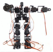 FEICHAO 17DOF Biped Robotic Educational Robot Humanoid Robot Kit Servo Bracket with Remote Controller