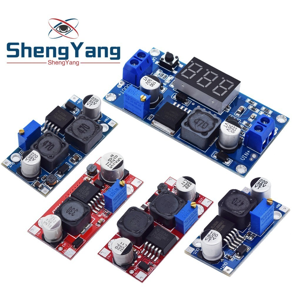 ShengYang 1pcs  Boost Buck DC-DC Adjustable Step Up Down Converter XL6009 Power Supply Module 20W 5-32V To 1.2-35V