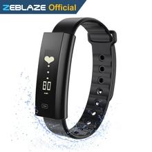Zeblaze Arch Blood Pressure/Blood Oxygen Smart Wristband Heart Rate Monitor Weekly Health Report Fitness Bracelet IP67 Smartband