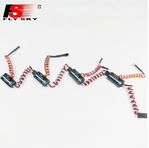 Flysky voltage magneto-optical sense temperature data acquisition module ibus backhaul interface FS-iA6B FS-IA10
