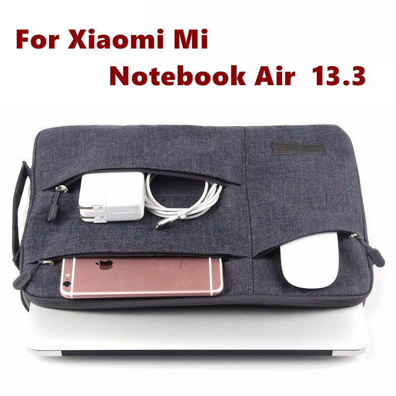 Fashion Sleeve Bag For Xiaomi Mi Notebook Air 13.3 Inch Laptop Pouch Case Creative Handbag Protective Skin Cover Stylus Gift