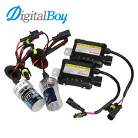 12V DC 55W H7 Xenon Bulb Ballast Conversion HID KIT Car Headlight Lamp 4300K 5000K 6000K