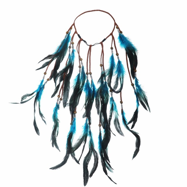 Boho Style Feather Headband Mawgie