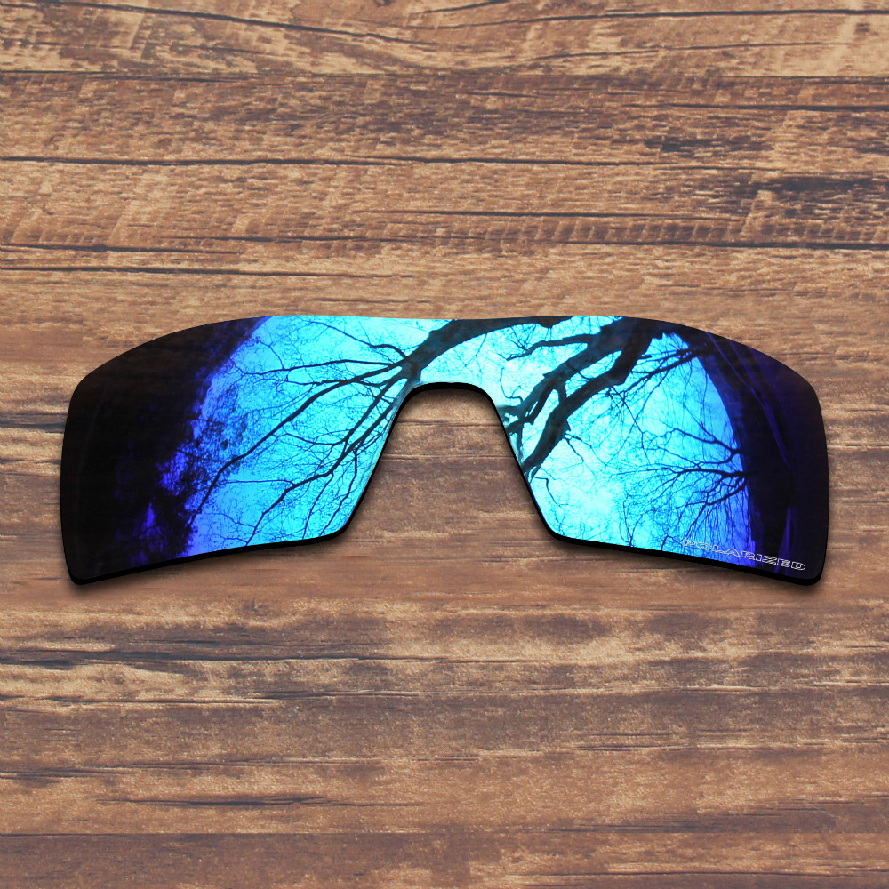 f54052dfef91d ToughAsNails Resist Seawater Corrosion Polarized Replacement Lenses for Oakley  Oil Rig Sunglasses Blue Mirrored (Lens Only)-in Accessories from Apparel ...