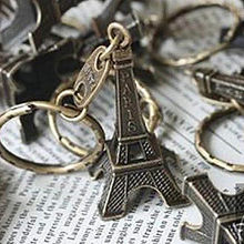 Promotion Clef Torre Eiffel Tower Keychain KeysCute Adornment 3D Eiffel Tower Paris Tour Chain Ring Decoration Holder 10.25(China)