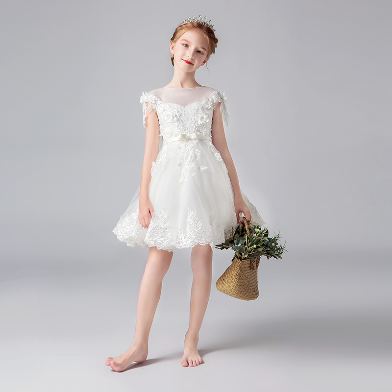 High Quality Children Party   Dress     Girls   First Communion   Dresses     Flower     Girl     Dress   for Party   Dresses   Child Baby Costume