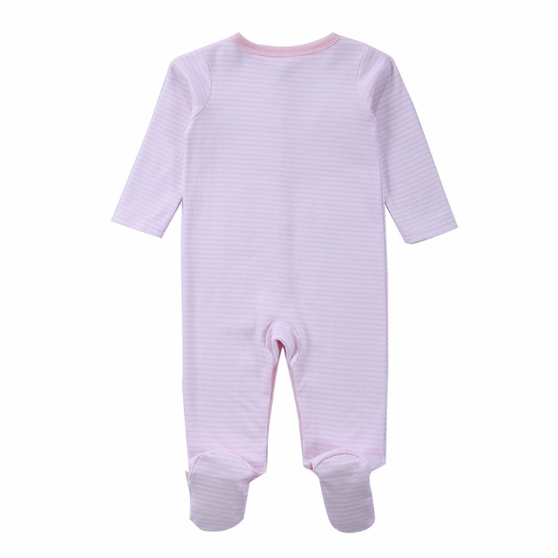 2 Pcslot Baby Clothes Baby Boy Girls Footed Romper Baby Rompers 100% Cotton Sleep & Play Clothes Baby Pajamas Newborn Clothing (5)