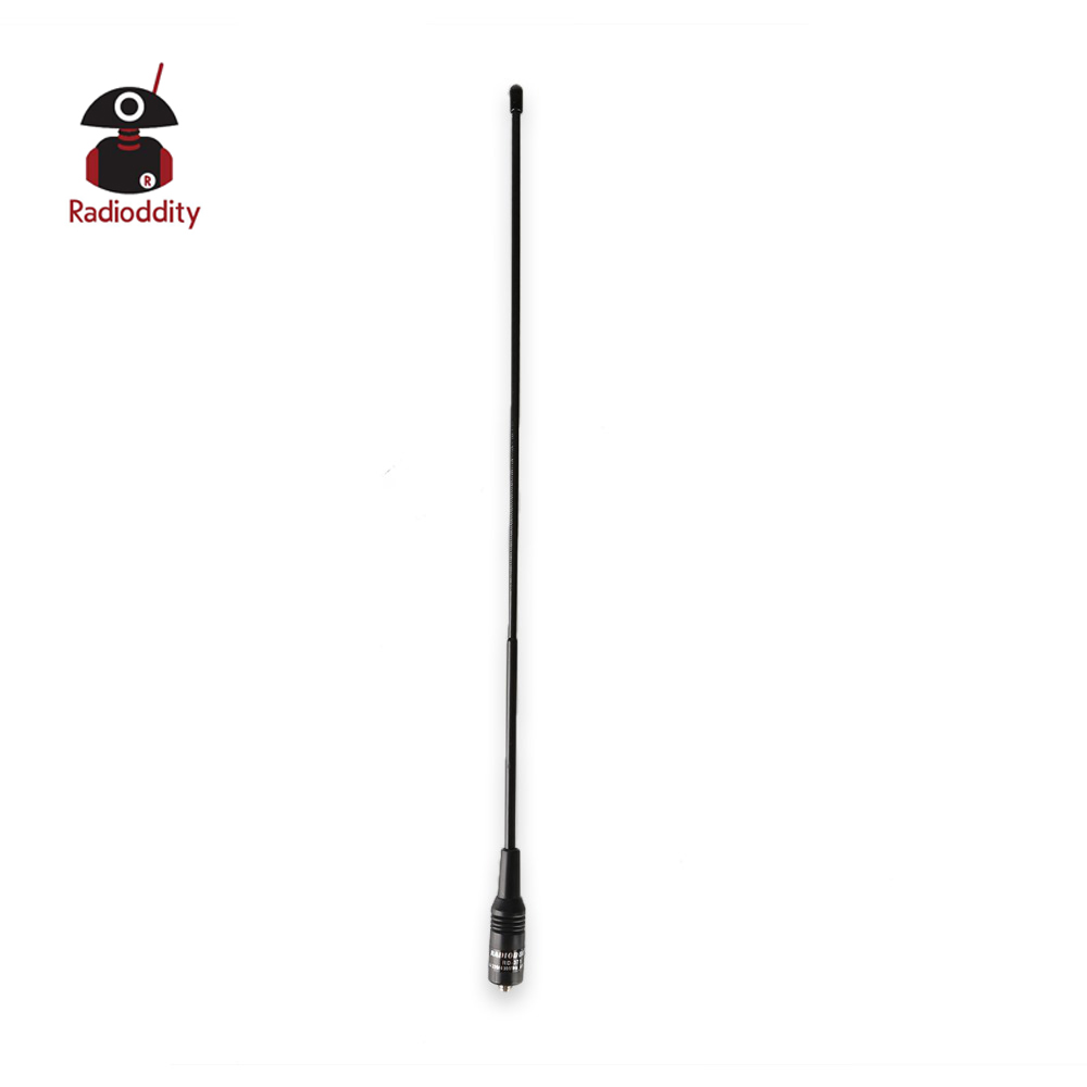 Radioddity RD-371 39cm Triband HT Antenna 2M-1.25M-70CM 144-220-440Mhz SMA-Female For Baofeng UV-5R BF-888s DM-5R