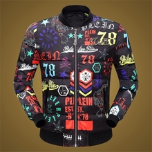 New Arrival fashion Stylish Winter Jackets Mens Slim Fitness Quilted Long Sleeve Cotton-Padded Thick Colorful Parkas 3XL 605