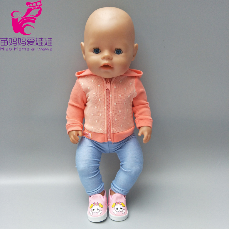 Doll Clothes For 18 Inch Doll Coat Clothes For 43cm Born Baby Doll Clothes Dress Wear Children Christmas Gifts Dropshipping
