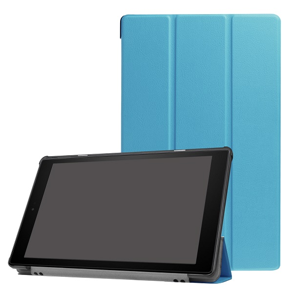 Ultra Slim Suporte Magnético Caso PU de Couro para Amazon Fogo HD 10 2017 10 polegada Tablet Capa Case + presente
