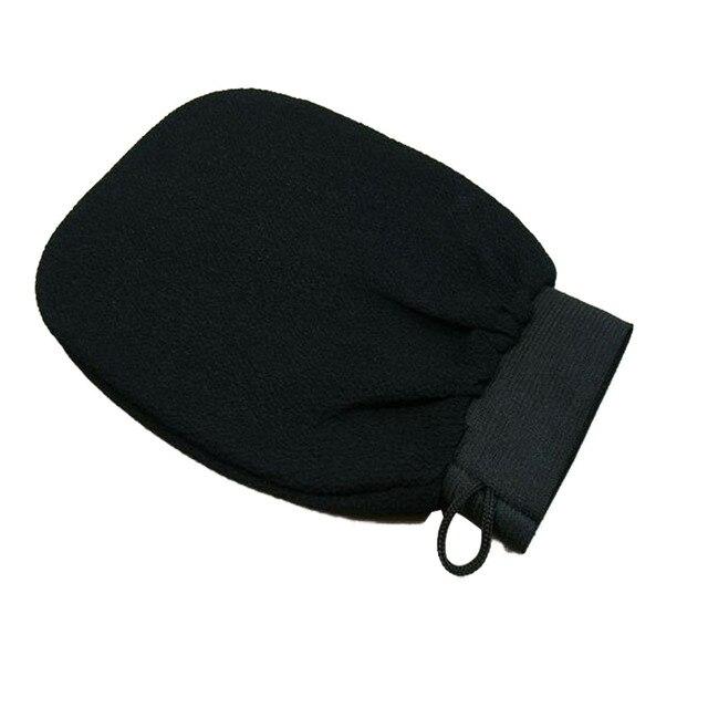 Good Quality 1 PC Magic Black Exfoliator Bath Glove Body Cleaning Scrub Mitt Rub Dead Skin Removal Shower Spa Massage 4