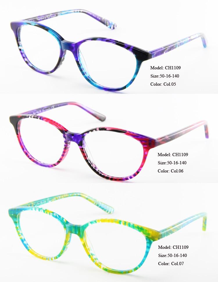 Frauen Fabrikverkauf amp; Oval Großhandelsqualität Wunder Acetat Rahmen Optische Klare Linse Mit Round Augen Gläser Ttq5RwWT