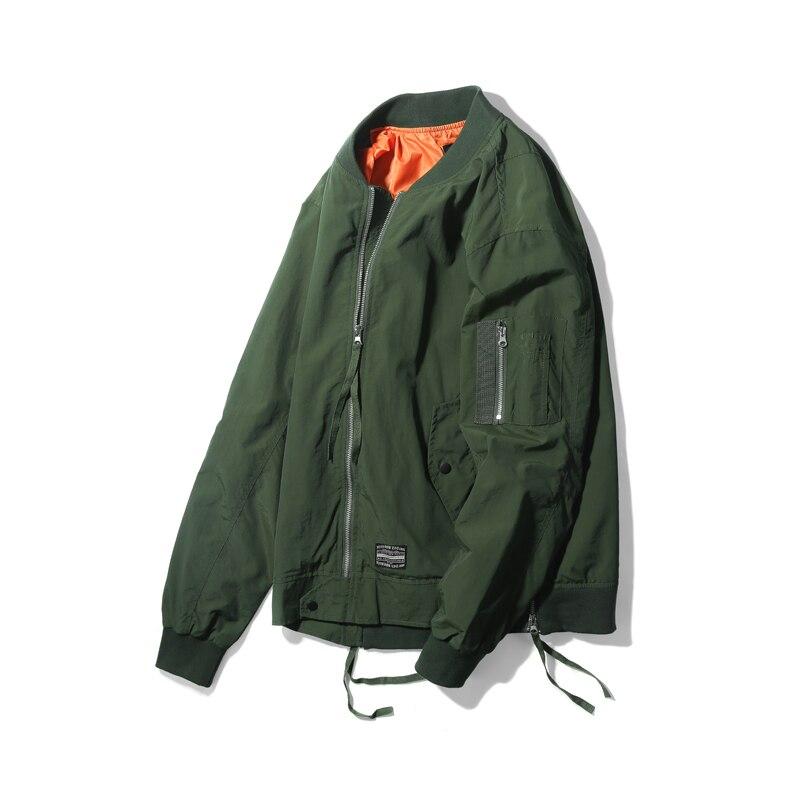 Armée Viishow Manteau Baseball Bomber Mâle Printemps Armygreen Militaire Hommes Jc1002181 Mode Veste Vêtements Nouveau Pour Marque rTEqT