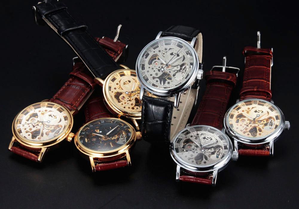 HTB1jsQxJVXXXXafXXXXq6xXFXXXr - SEWOR Casual Fashion Skeleton Watch for Men
