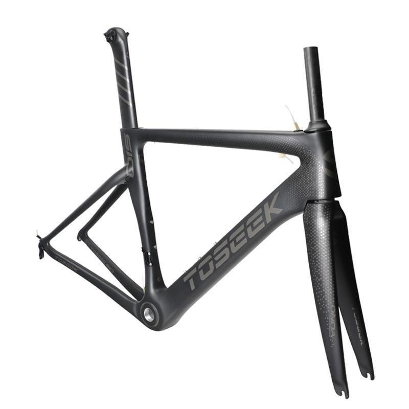 2018 Carbon Road Bike Frame Cross Carbon Bicycle  Frame + Fork+ Headset  3k Matte 48/51/54/56cm Bicicleta Carbon Bike Frame