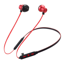 Sport Bluetooth Headset Wireless Stereo Music Neck Band Handsfree Earphone for Samsung Huawei Iphone