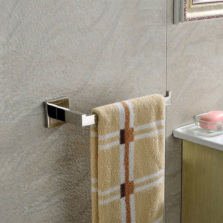 10 inch Length Bathroom Stainless Steel Square Towel Rail Bar Towel Racks 01-028 ...